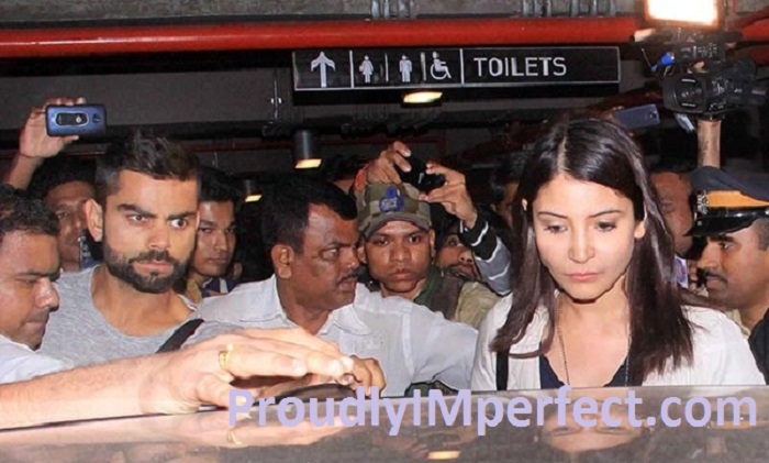 'Pyar Karne Wale Zamane Ki Parwah Nahi Karte' This Comes True In These Airport Pictures Of Anushka Virat.