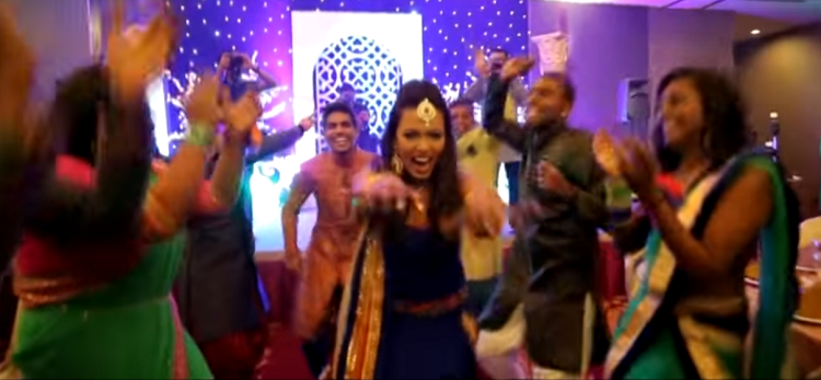What a Bridal Entry! Watch this rocking video.