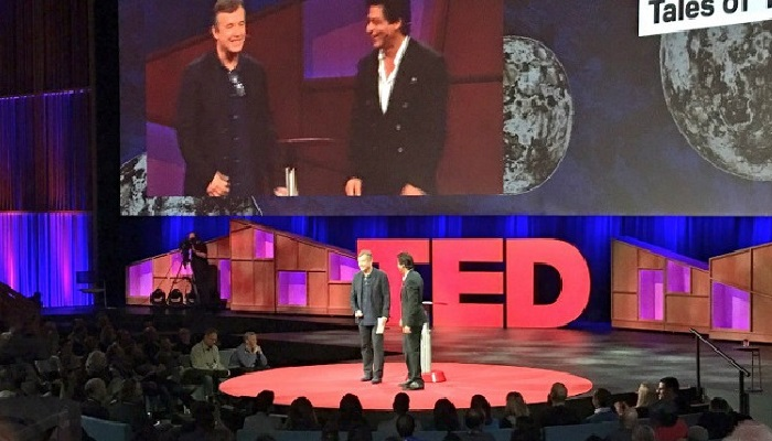 Another first – Shahrukh Khan speaks at TED talks in Canada and wins hearts.