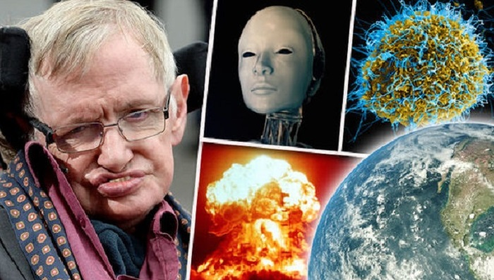 Stephen Hawking says humans better find another planet if they want to live more than 100 years.