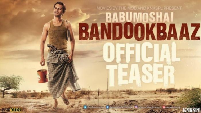 Teaser of Nawazuddin Siddiqui's new movie 'Babumoshai Bandookbaaz ' where he is more mean then  'Gangs Of Wasseypur'.