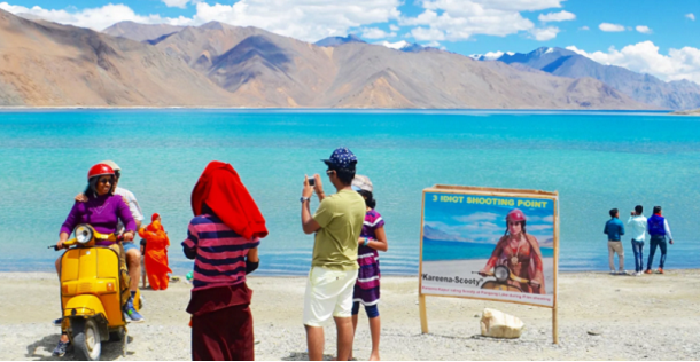 Leh tourism inspired by 3 idiots