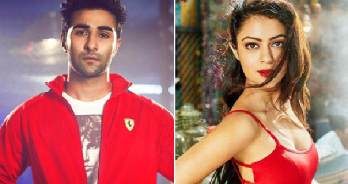 Newcomers Aadar Jain and Anya Singh make their Bollywood debut with 'Qaidi Band'.