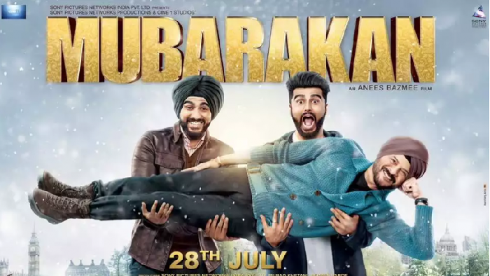Arjun Kapoor is back in a double role with 'Mubarakan'.
