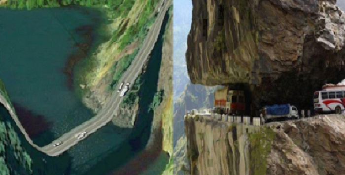 11 of the most dangerous roads in the world.