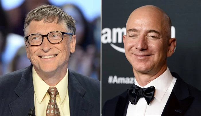World's richest man is now Jeff Bezos beating Bill Gates after 3 years.