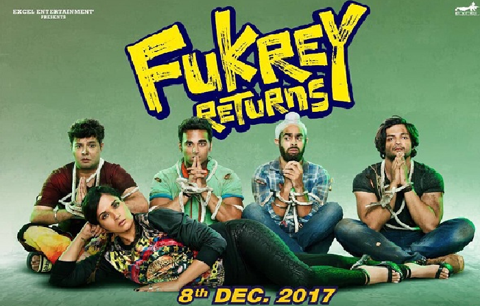 Fukrey Returns teaser is out with the jugaadu boys.