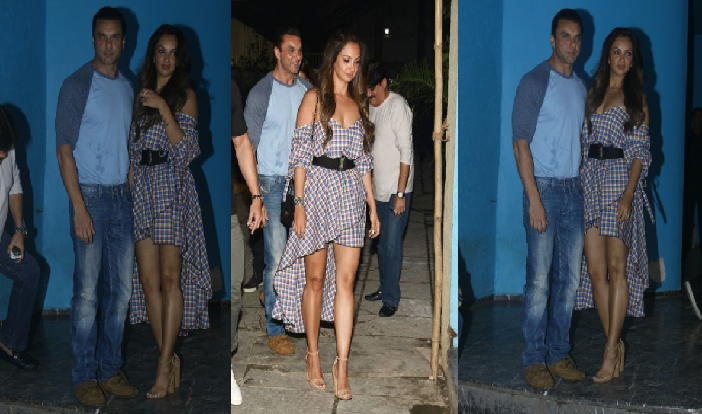 Arbaaz Khan's 50th birthday sees Sohail Khan's wife Seema steal the limelight.