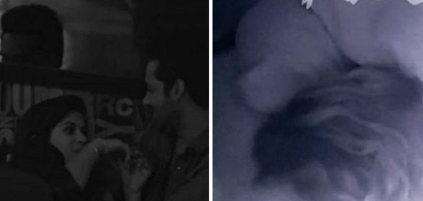 Puneesh Sharma and Bandgi Kalra's kissing scene became viral on Social Media.