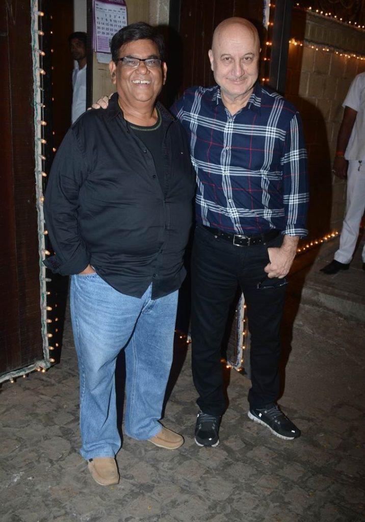 Anupam Kher and Satish Kaushik.