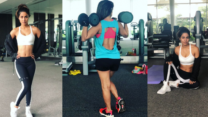 Hina Khan sets new fitness goals for us.