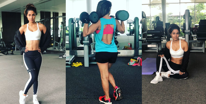 Hina Khan sets new fitness goals for us.