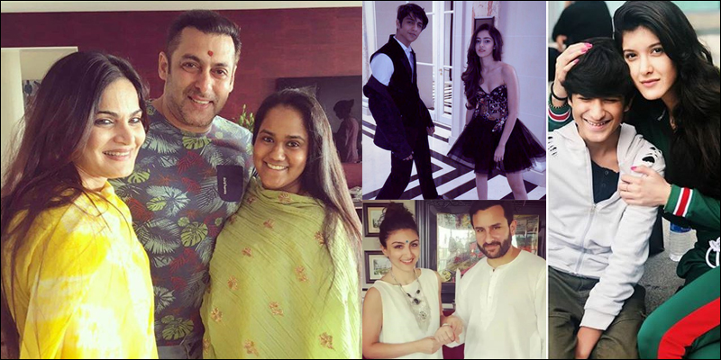 Check out famous Bollywood bro-sis duo this Raksha Bandhan.