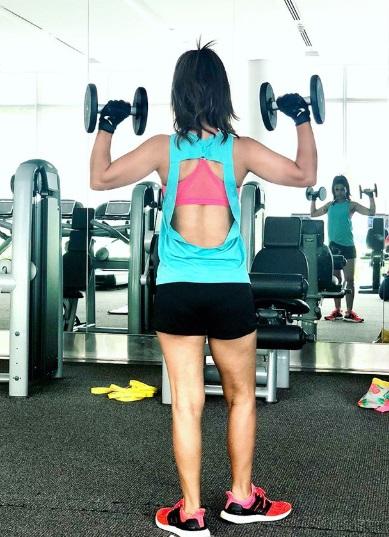 hina khan fitness goal