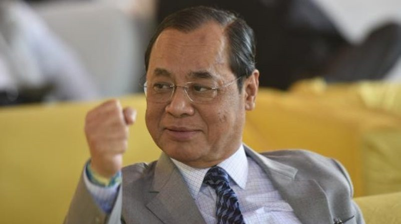 Welcome the new chief justice of India – Ranjan Gogoi.