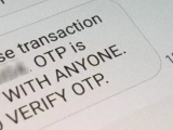 Bank otp fraud