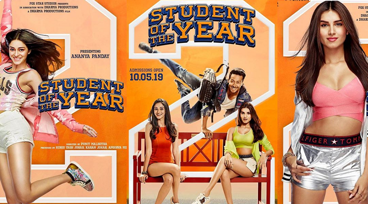 Karan is back with the new batch of student of the year.