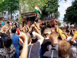 Indian culture outshines at the Carnival of Cultures, Berlin.
