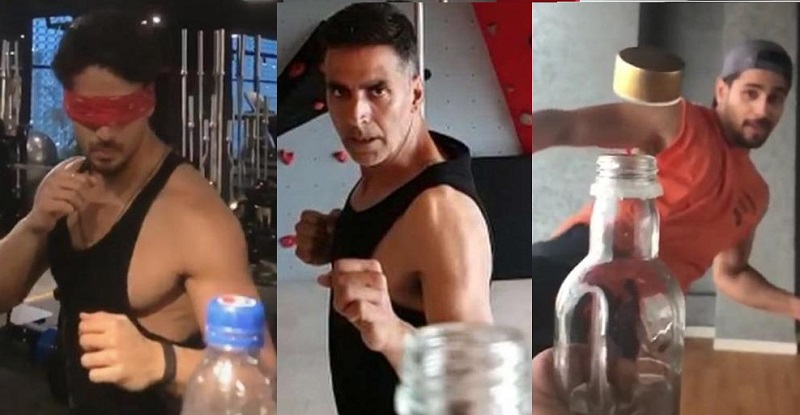 Check out these famous Bollywood Celebrities take #BottleCapChallenge here.