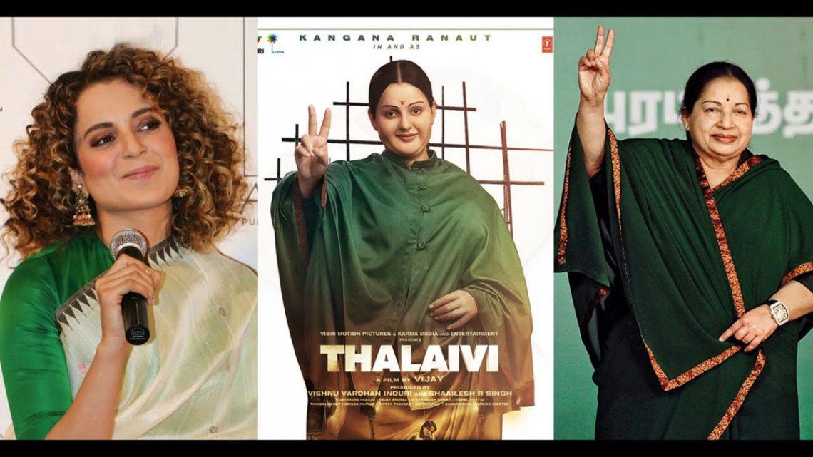 Thalaivi Trailer: From Cinema To Chief Minister, Kangana Ranaut shines in Jayalalithaa biopic.