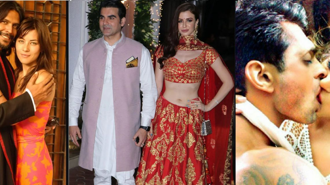 Check out these male celebrities who had multiple affairs with women, some of them got married 4 times.